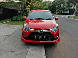 Toyota NEW AGYA 2019 TRD AT 1.2 FerrariRed km 7ribu like new CASH SAMA