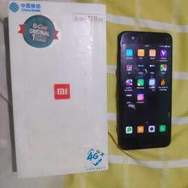 Xiaomi mi6 6/128 sudah UBL