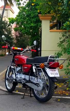 YAMAHA RX100 paper current 2025 insurance 1 year current Tax current