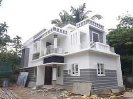 1500 SqFt villa/4.25cent/ 3 bhk/ 55 lakh/ kuttur Thrissur