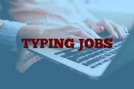 Best typing job opportunity daily salary. 2528