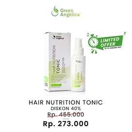 SALE 40% Hair Tonik Green Angelica Pelebat Rambut Botak Dari Lahir ORI