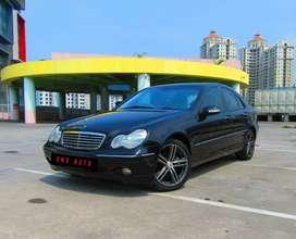 Mercedes Benz C240 Elegance AT 2004 Low KM Istimewa HU Pioneer