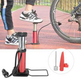 MINI FOOT PORTABLE AIR PUMP FOR MOTORCYCLE, CAR, BIKES