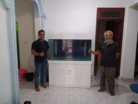 aquarium putih milaminto.,