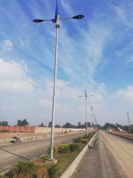Street Lighting Poles Solar poles structural tower conical octagonal