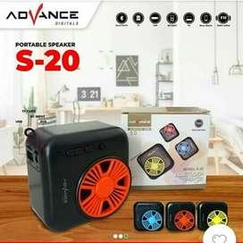 Speaker Aktif Multimedia Advance S20