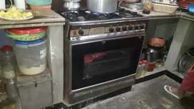 5 burners gas oven for sale