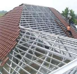 Rangka atap dan kanopi baja ringan