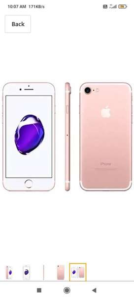 Iphone 7 good condition 32 gb rose gold