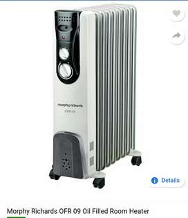 Morphy Richards Oil heater 3 months old