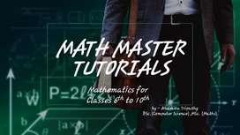 Maths Master tutorials
