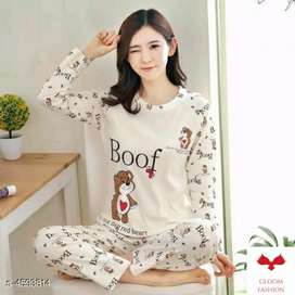 COTTON NIGHT SUITS (CASH ON DELIVERY)
