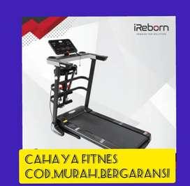 Treadmill elektrik murah alat fitnes promo