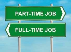 Urgent requriment Part time jobs
