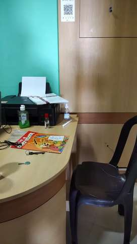 FULLY FURNISHED SMALL OFFICE FOR RENT.6500.