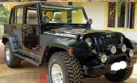 Rubicon new black jeep