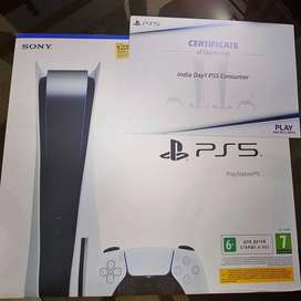 Sony PS5 Disc Edition 825gb is Now Available With Us So Hurry Up Guy's