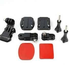 Mounting Dudukan Kamera Untuk di Helm