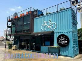 Box container - container booth cafe - container usaha - container