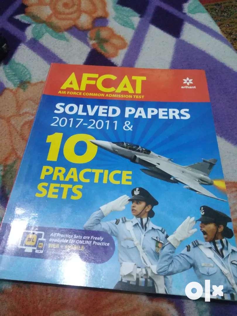 AFCAT Solved paper    ARIHANT 0