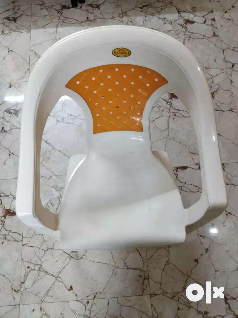 Elegant White High Quality Plastic Chairs, 1200/- for 2 Ramamurthy Ngr 0