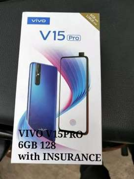 VIVO V15PRO with Insurance 15000