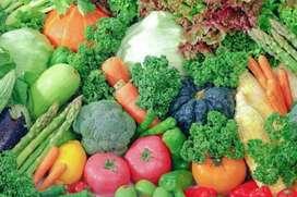 100% organic fruits vegetables at ur door step at market price.Callnow