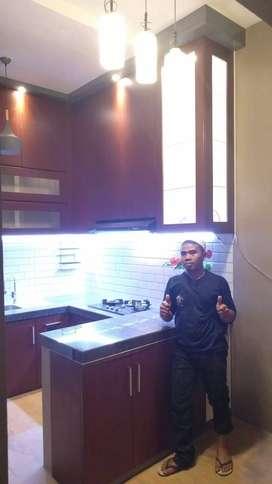kitchen set jadi satu mini bar multiplek DAP