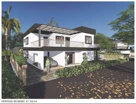 4-BHK bungalow