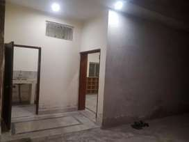 1Bed room portion + attached bath + kichen for rent