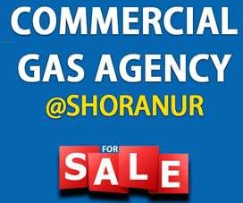 GAS AGENCY FOR SALE @SHORANUR