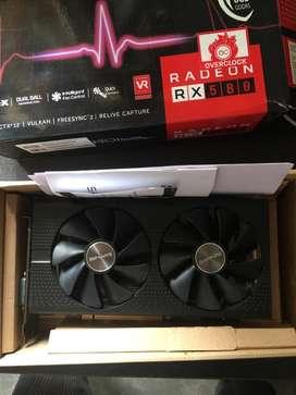 Saphhire AMD RX 580 8gb Overclocked