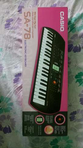 Casio keyboard SA-78, 44 keys