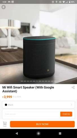 Mi brand new speaker