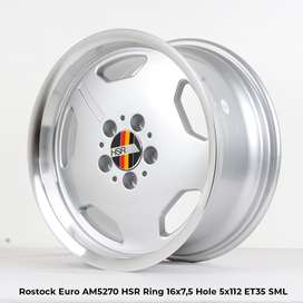 Kredit Bunga 0% ROSTOCK EURO AM5270 HSR R16X75 H5X112 ET35 SML