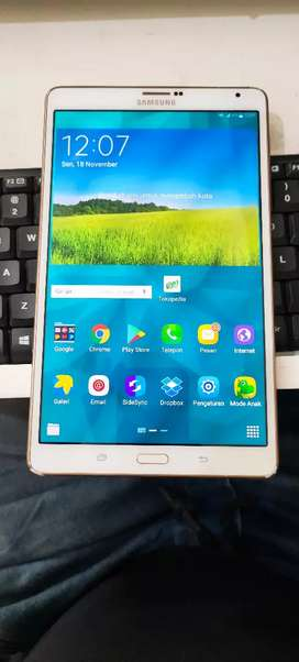 samsung tab S T705 ram3gb,memory16gb jaring 4G