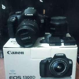 Camera Canon 1300D Bonus Lensa Fix Yongnuo 50mm
