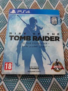 Rise of tomb rider steel book