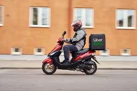 UBER EATS  Delivery Job- Part / Full time - No Shift - No Target