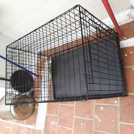 Dogs cage metal