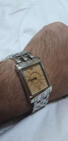 Armani Genuine Watch With Link Bracelet Mint Condition
