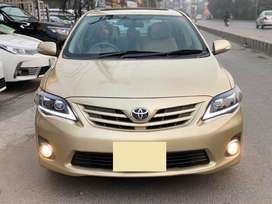 TOYOTA COROLLA 2013 (GET ON EASY INSTALLMENT)