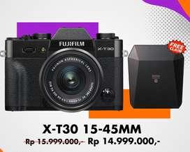 Fujifilm X-T30 15-45mm kredit promo bisa nol persen