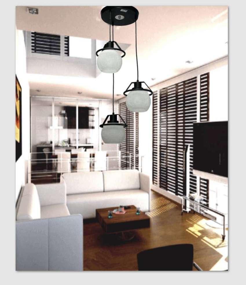Lampu gantung minimalis dekorasi ruang keluarga 6127/3 ID62 0