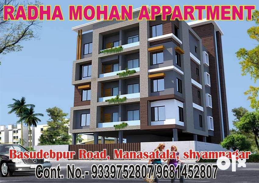 2 bhk flat for sale in Shyamnagar railway station 0