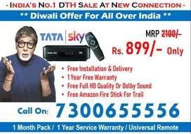 50% Discount Book Your DTH Box, Tata Sky DTH, Dishtv, Tatasky airtel!!