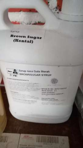 Brown sugar 2 ltr