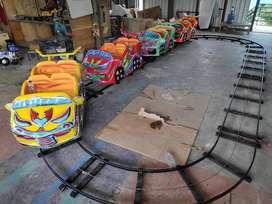 AGM jual odong mini coaster kereta lantai wahana mainan terlaris