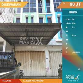 Disewakan Ruko Jl Raya Kalpataru Kota Malang , Cocok Untuk Usaha